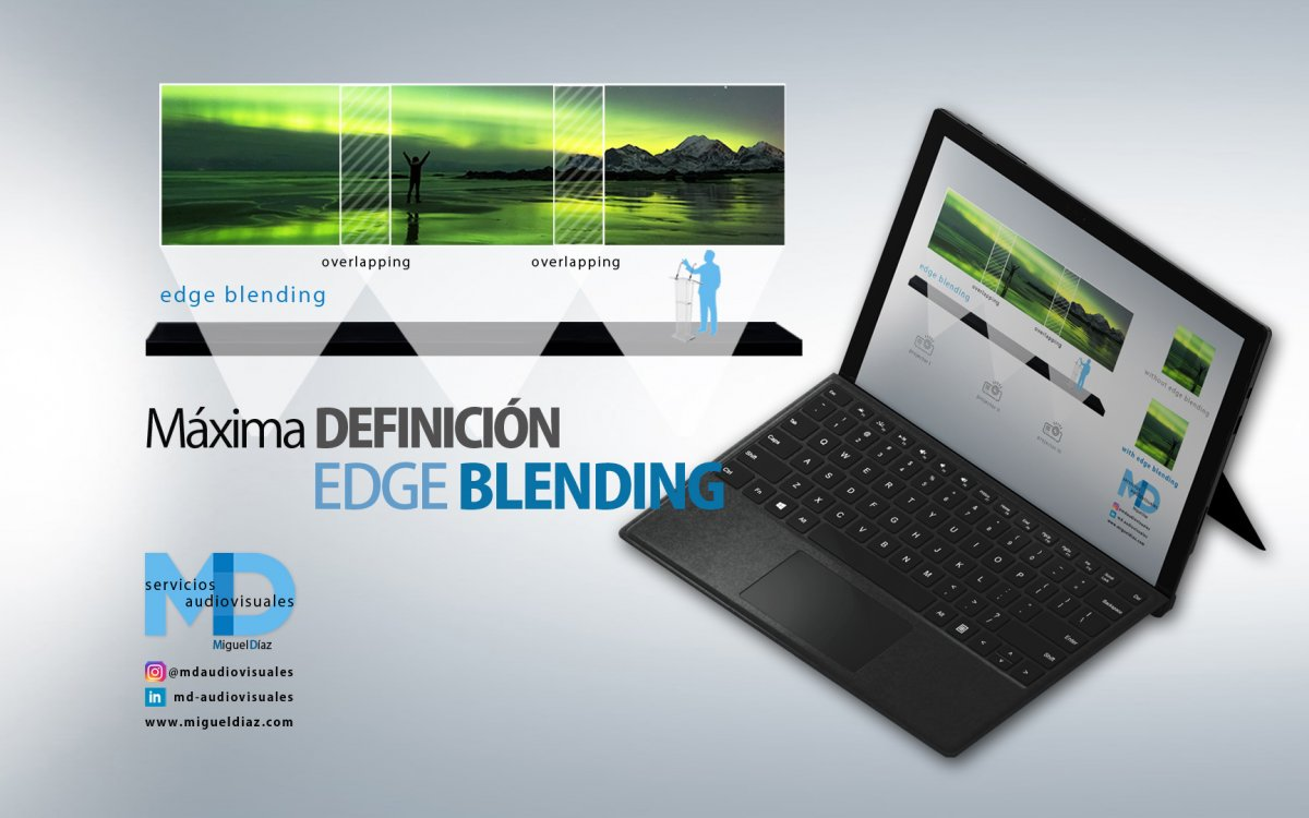 Get the highest definition with Edge Blending